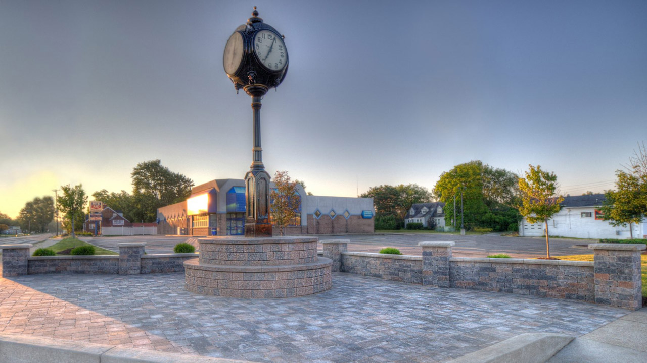 City of Burton Clock Corner